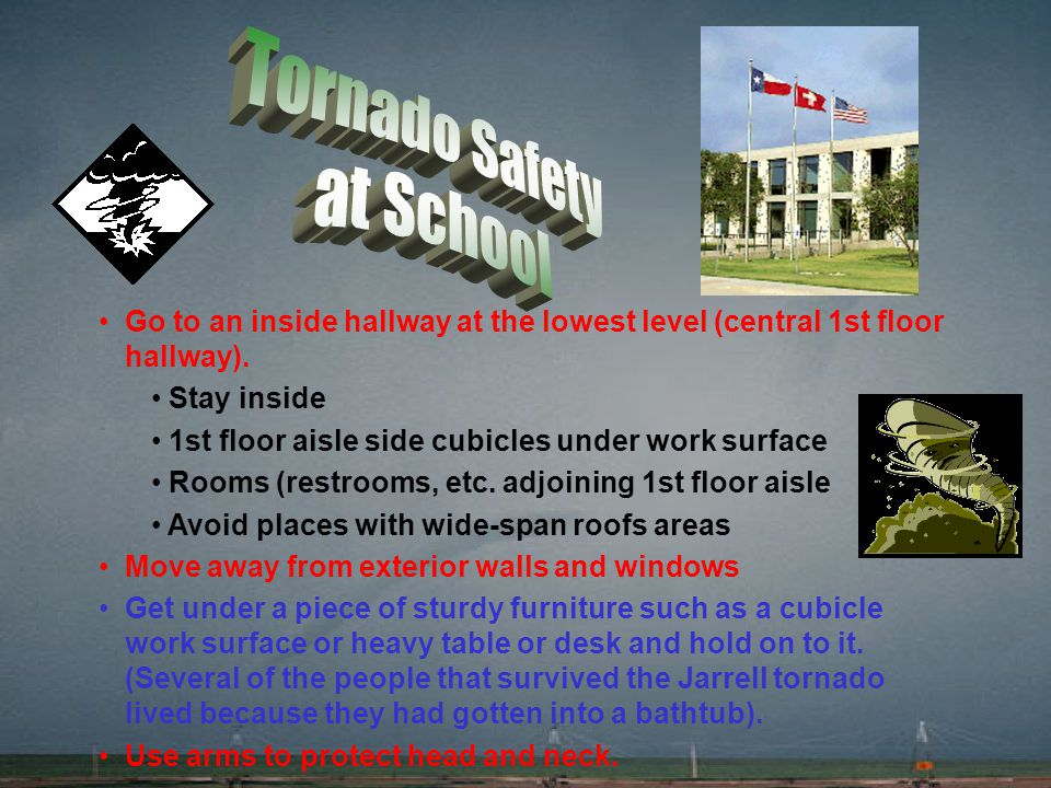 Tornado Safety at School