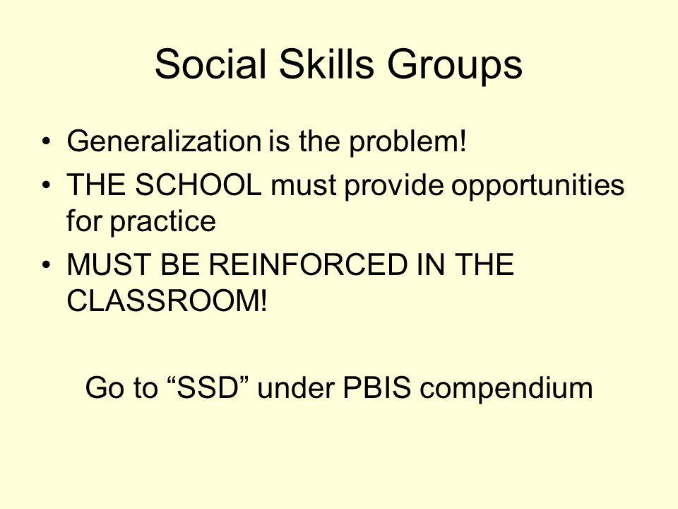 Go to SSD under PBIS compendium