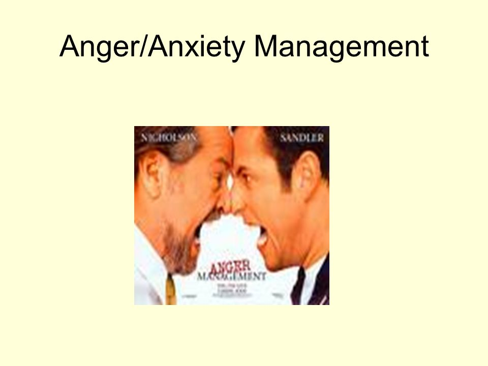 Anger/Anxiety Management
