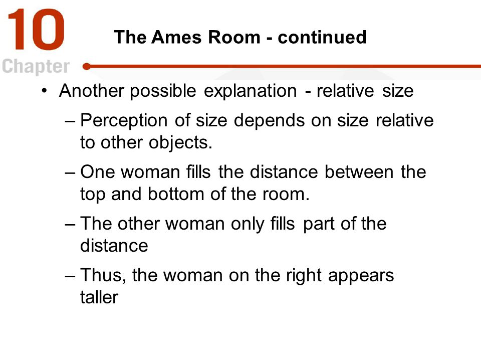 The Ames Room - continued