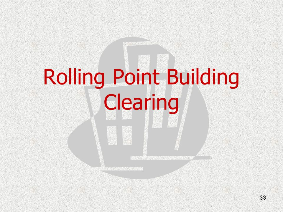 Rolling Point Building Clearing