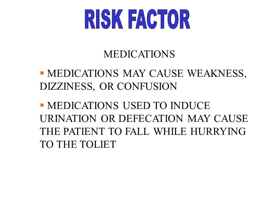 RISK FACTOR MEDICATIONS