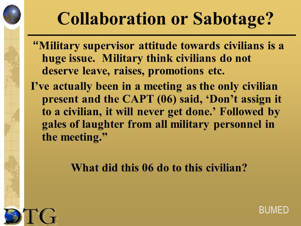 Collaboration or Sabotage