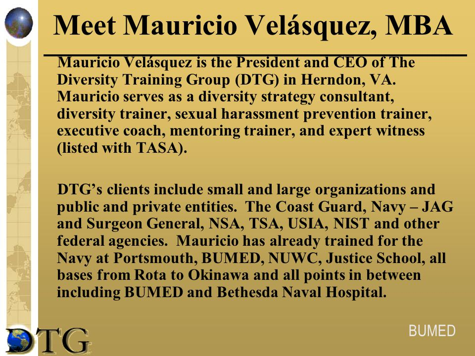 Meet Mauricio Velásquez, MBA