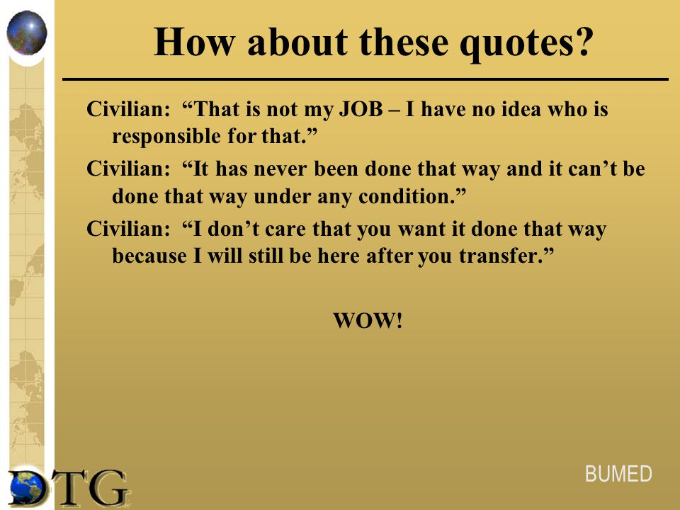How about these quotes