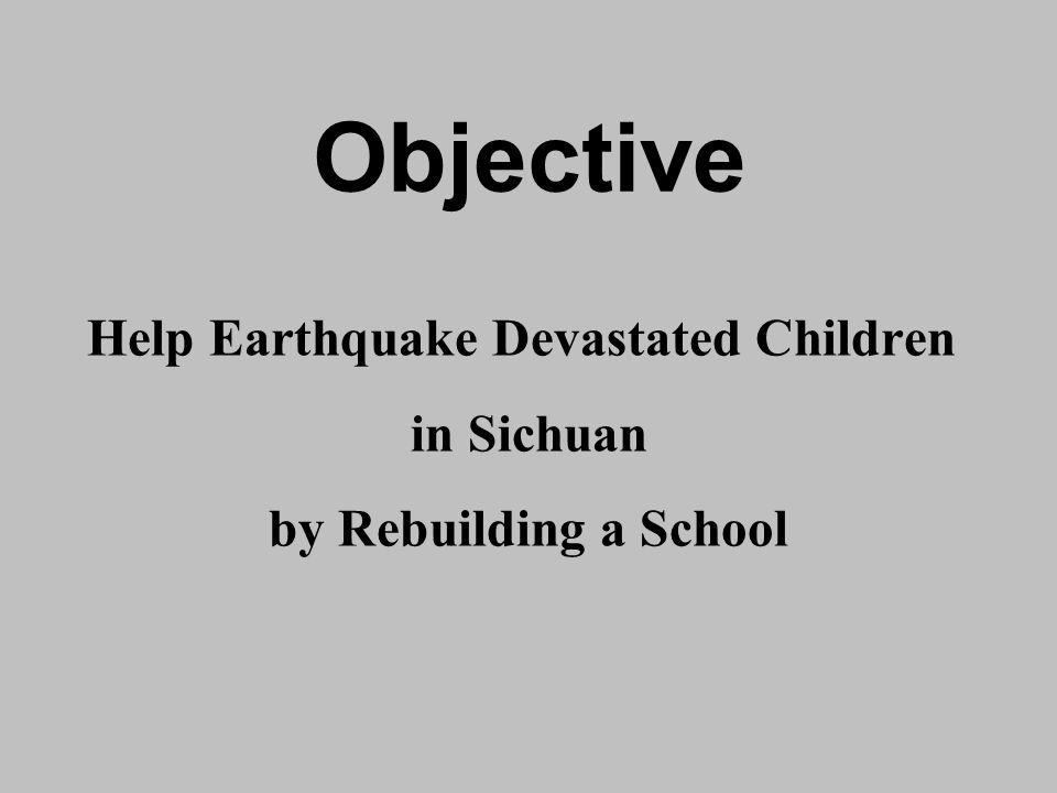 Help Earthquake Devastated Children