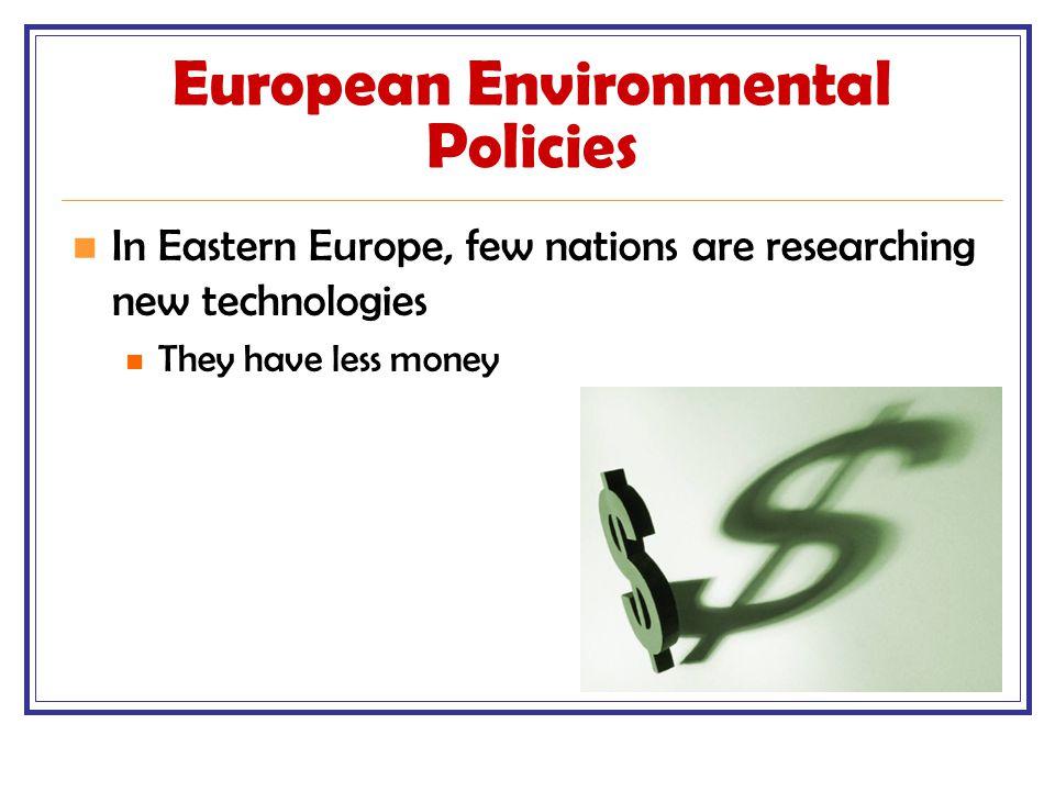 European Environmental Policies