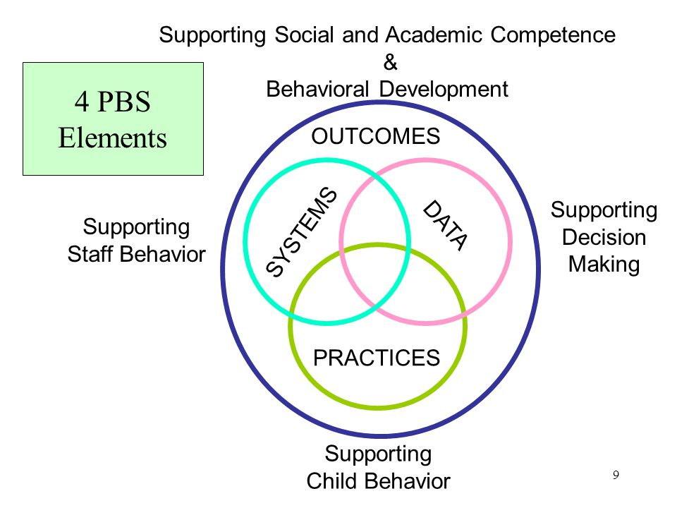 4 PBS Elements Supporting Social and Academic Competence &