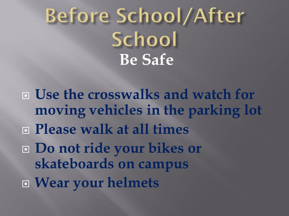 Before School/After School