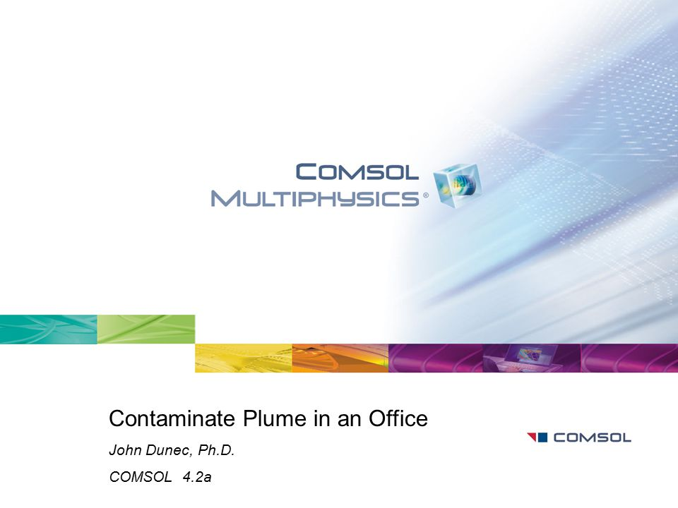 Contaminate Plume in an Office