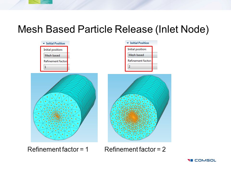 Mesh Based Particle Release (Inlet Node)