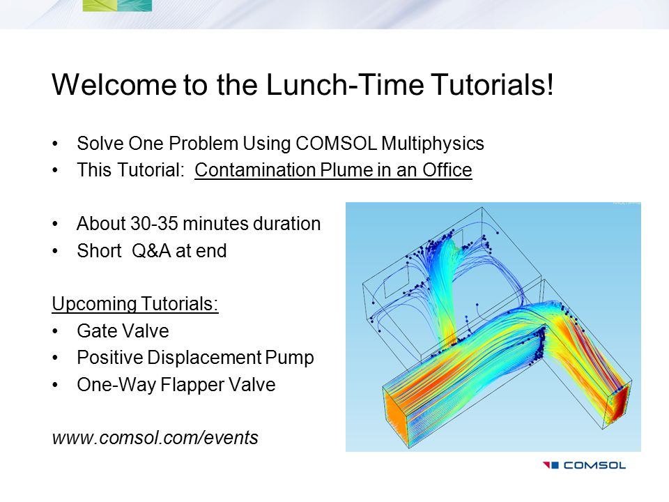 Welcome to the Lunch-Time Tutorials!