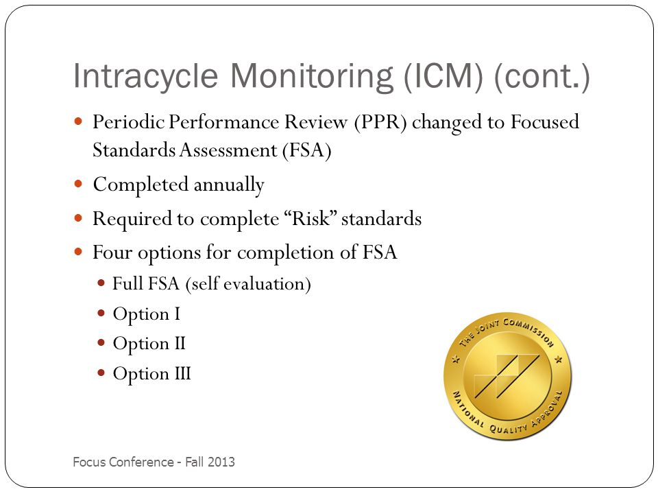 Intracycle Monitoring (ICM) (cont.)