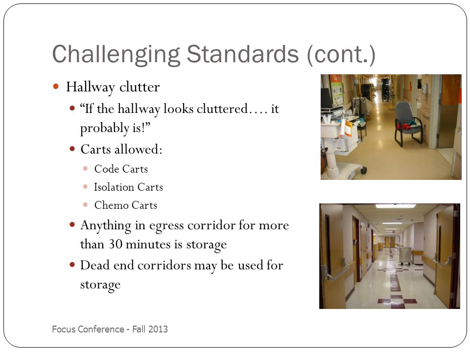 Challenging Standards (cont.)
