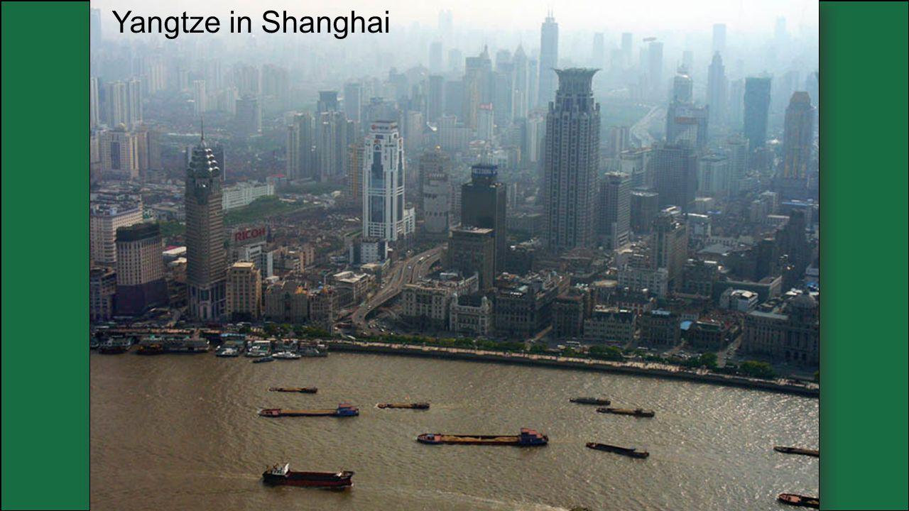 Yangtze in Shanghai