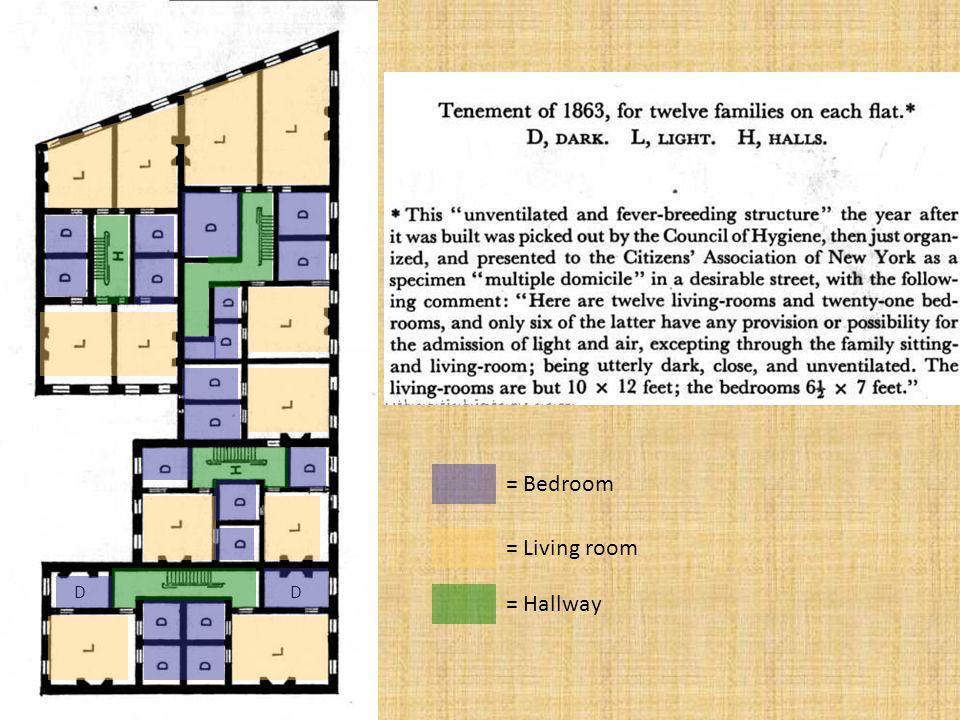 = Bedroom = Living room D D = Hallway