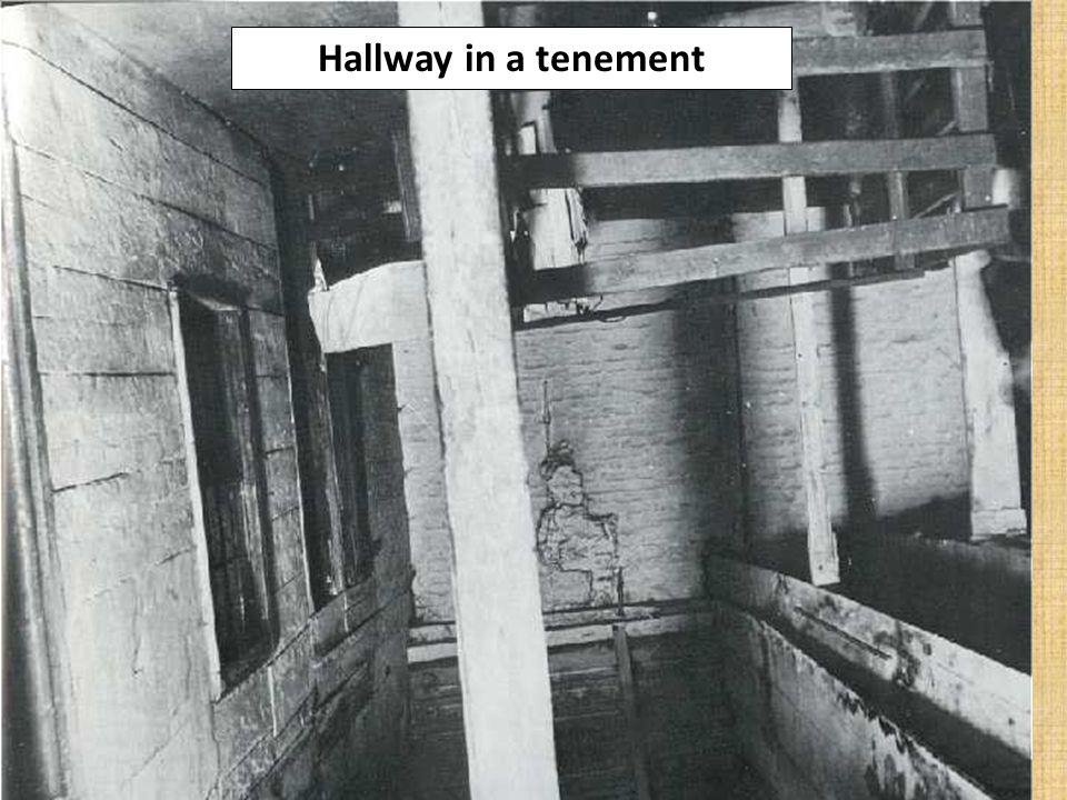 Hallway in a tenement