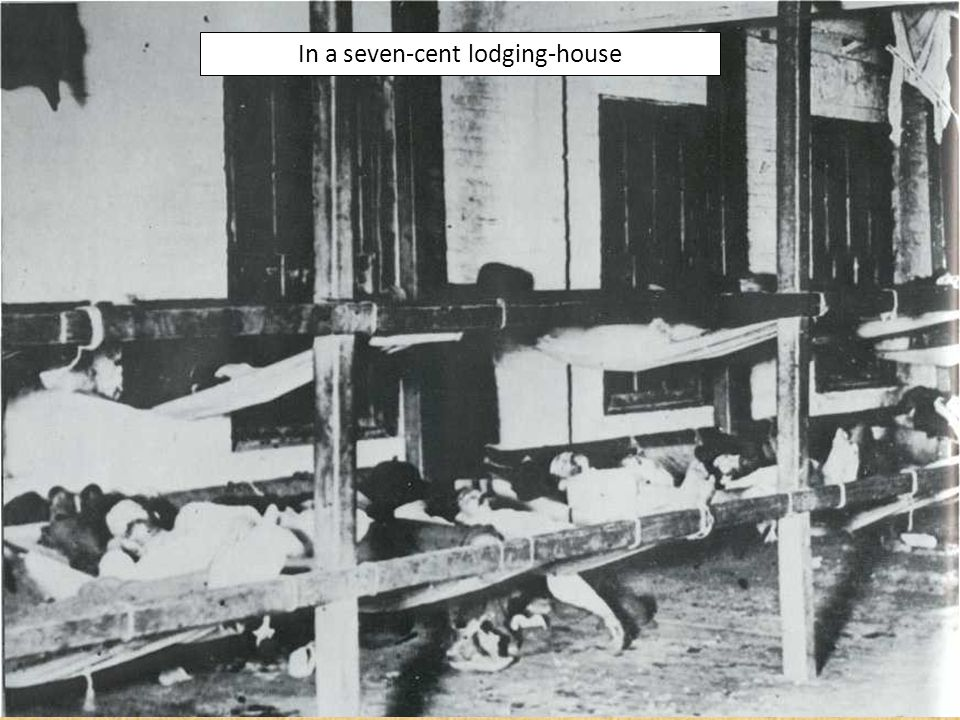 In a seven-cent lodging-house