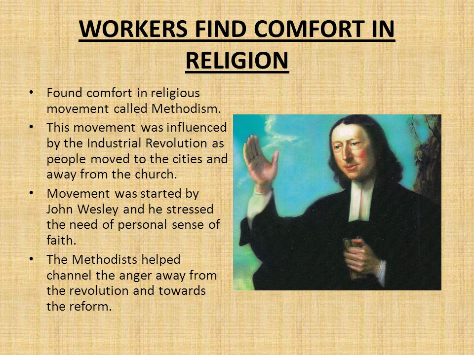 WORKERS FIND COMFORT IN RELIGION
