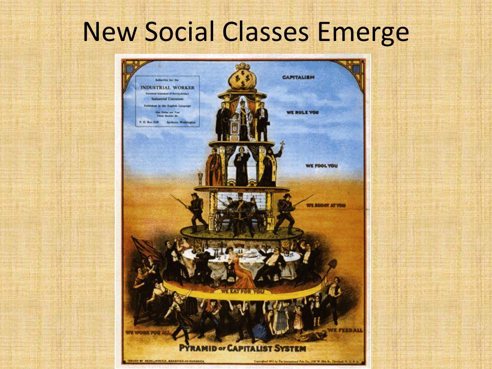 New Social Classes Emerge