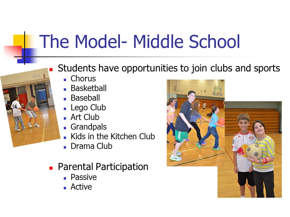 The Model- Middle School