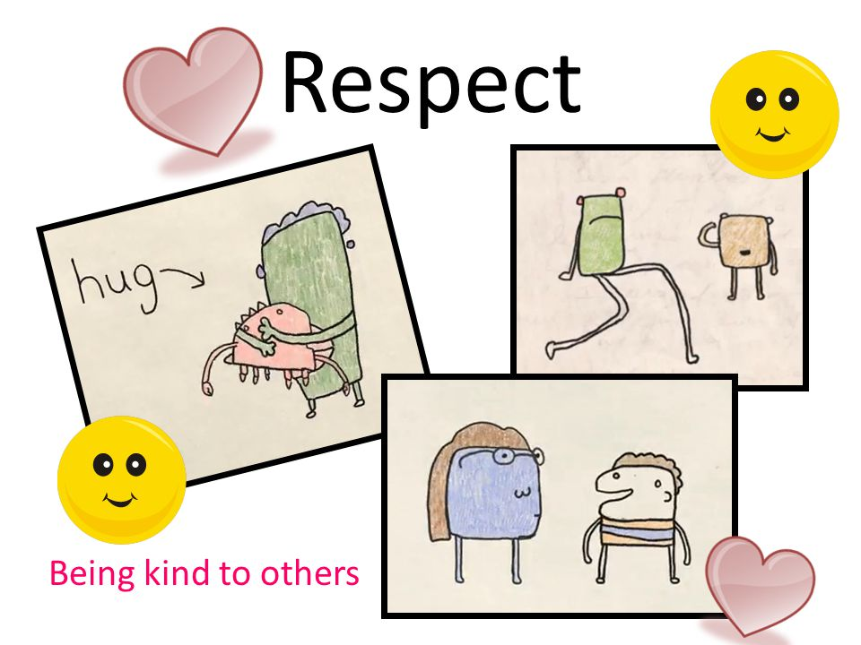 Respect Being kind to others