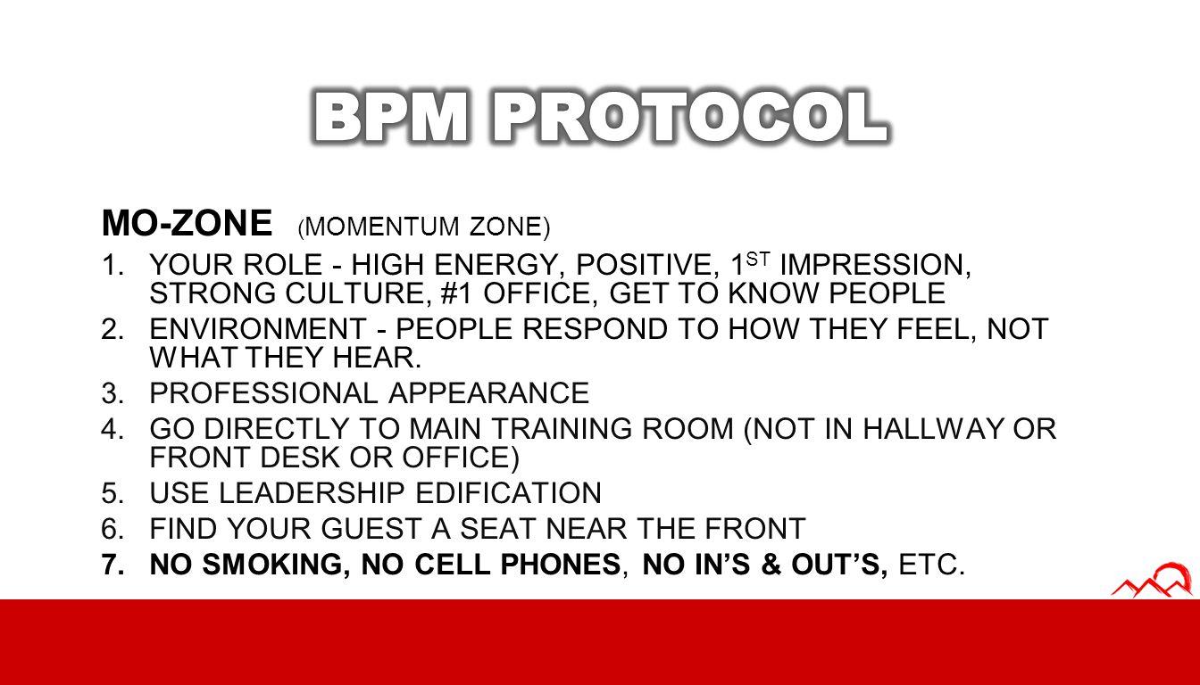 BPM PROTOCOL MO-ZONE (MOMENTUM ZONE)