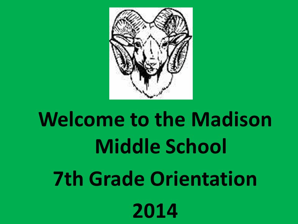 Welcome to the Madison Middle School