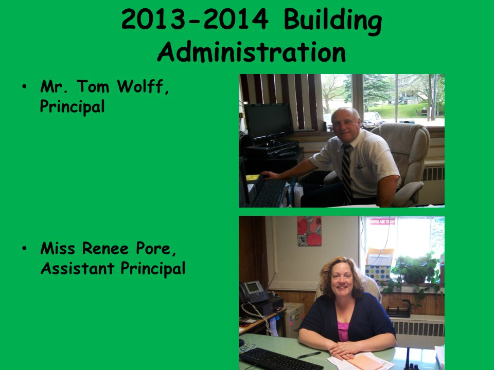 2013-2014 Building Administration