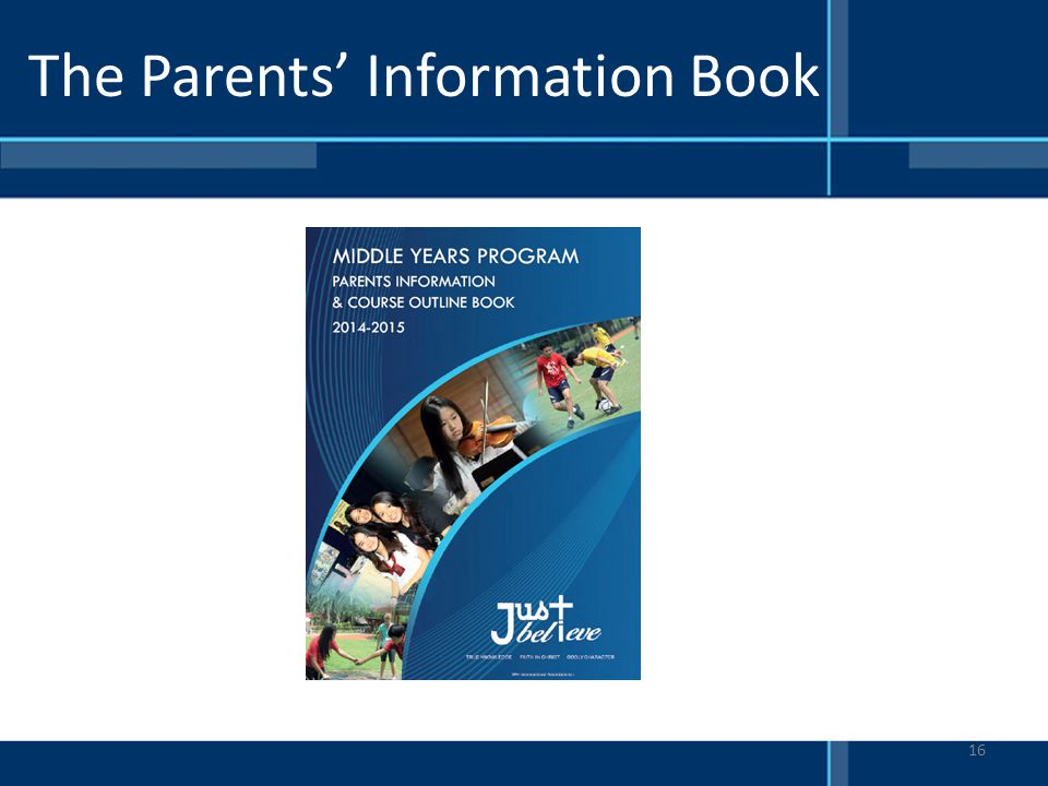The Parents' Information Book