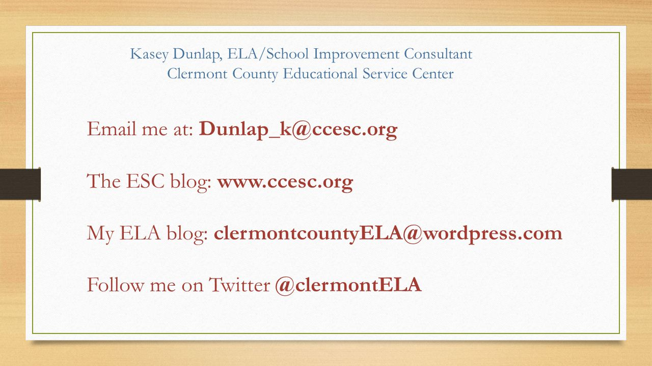 Clermont County Educational Service Center