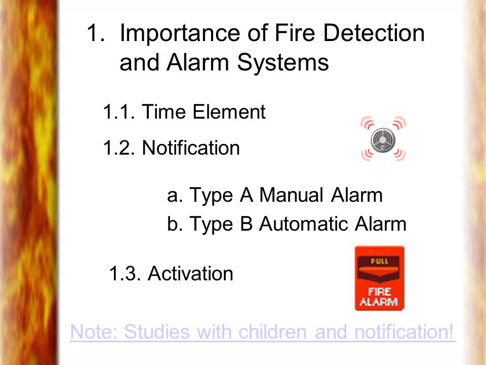 1. Importance of Fire Detection and Alarm Systems