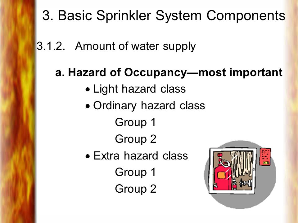 3. Basic Sprinkler System Components