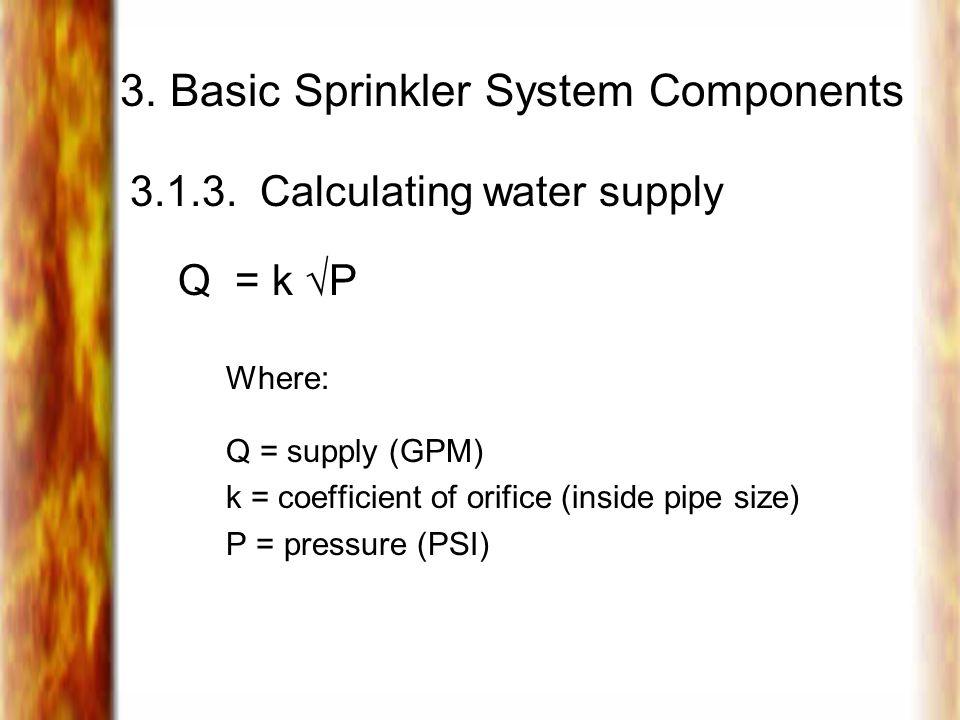 3. Basic Sprinkler System Components