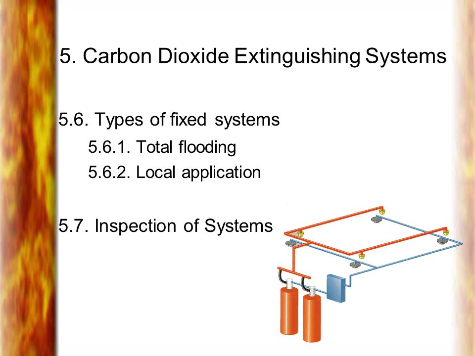 5. Carbon Dioxide Extinguishing Systems