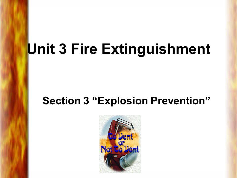 Unit 3 Fire Extinguishment