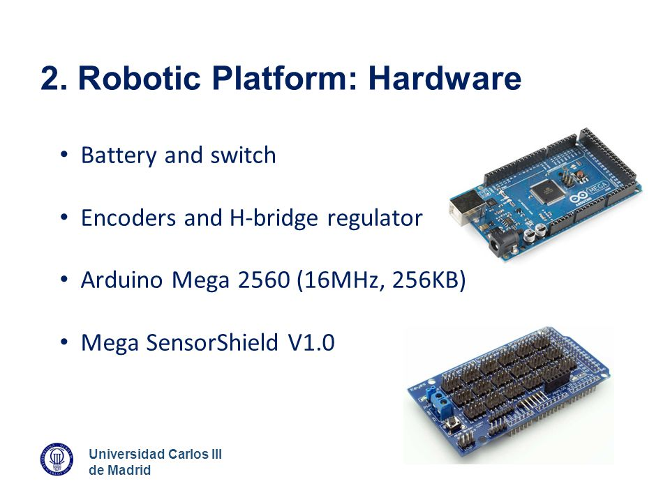 2. Robotic Platform: Hardware