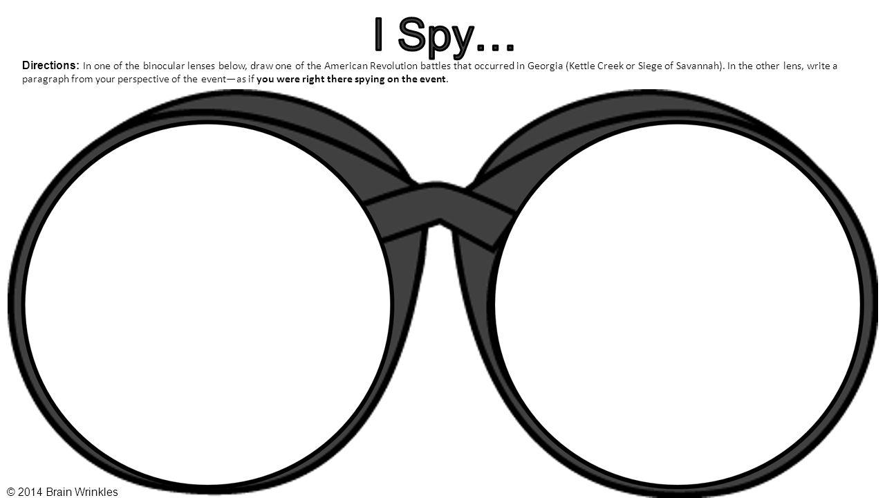 I Spy…