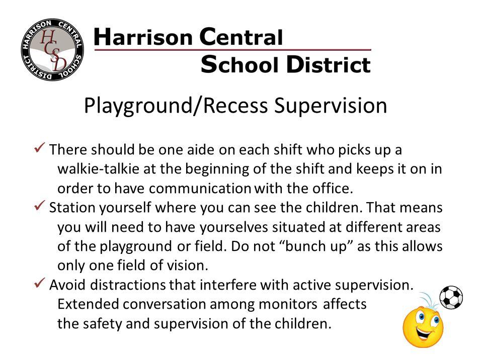 Playground/Recess Supervision