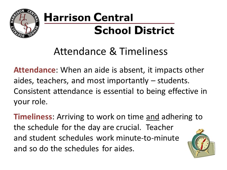 Attendance & Timeliness
