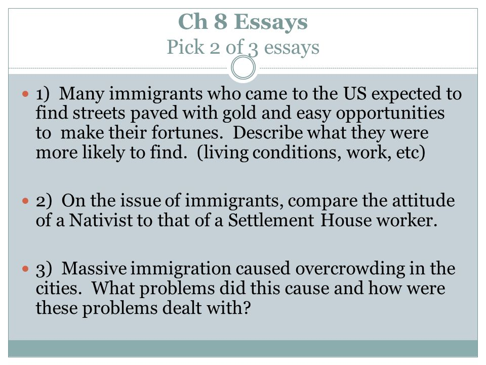 Essays canadian immigration issues