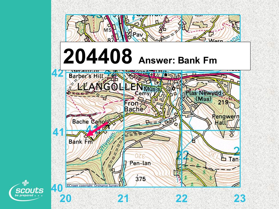 204408 Answer: Bank Fm 20 21 22 23 40 41 42