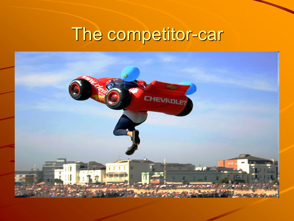 The competitor-car