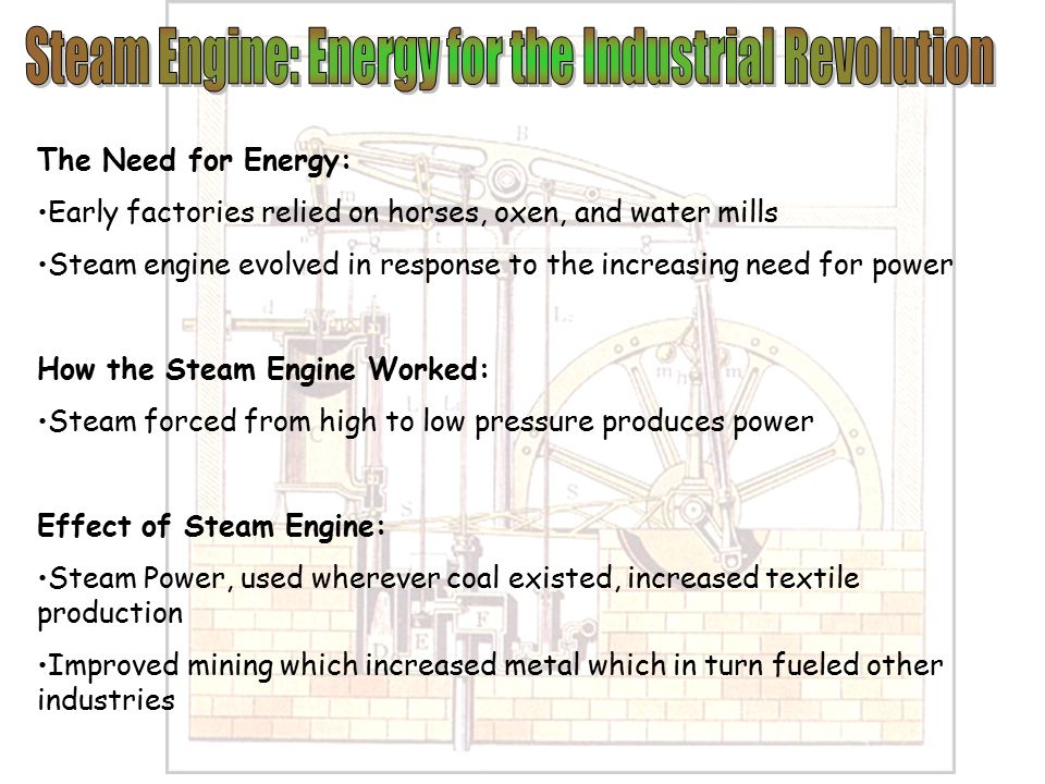 steam powerplant conventional revolution essay effects