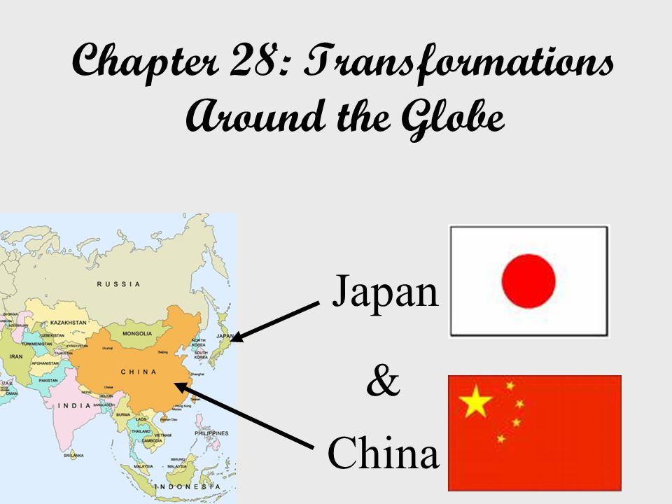 Chapter 28: Transformations Around the Globe