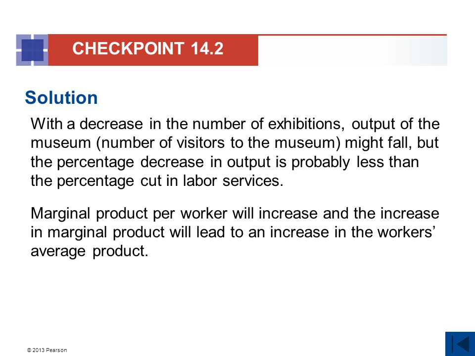 CHECKPOINT 14.2 Solution.