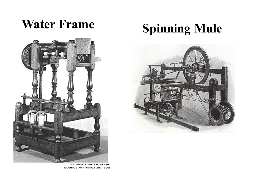 Water Frame Spinning Mule