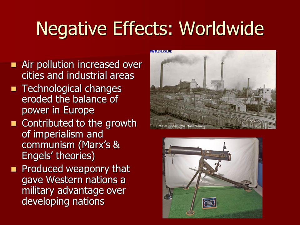 Negative Effects: Worldwide