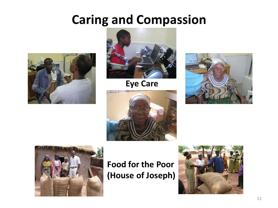 Caring and Compassion Eye Care Food for the Poor (House of Joseph)