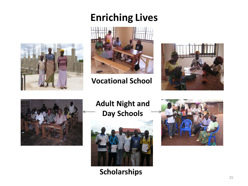 Enriching Lives Vocational School Adult Night and Day Schools